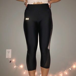 UnderArmour Cropped Workout Leggings